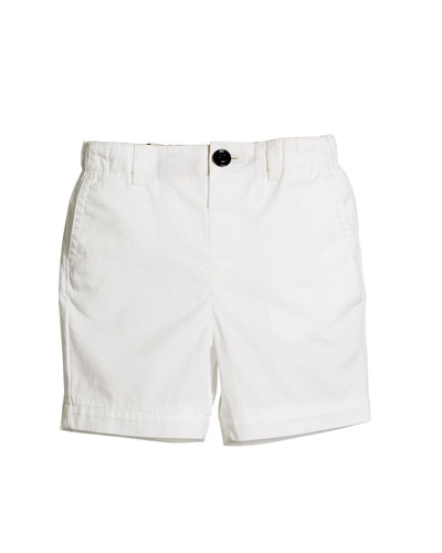 Sean Cotton Twill Shorts, Size 6M-3