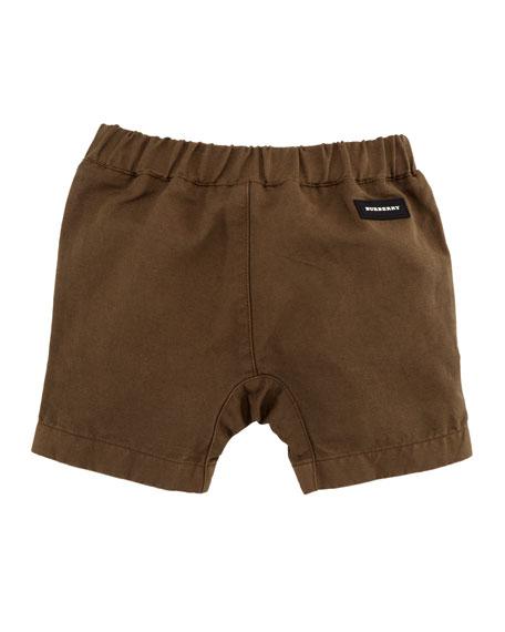 Curran Drawstring Bermuda Shorts, Size 12M-3