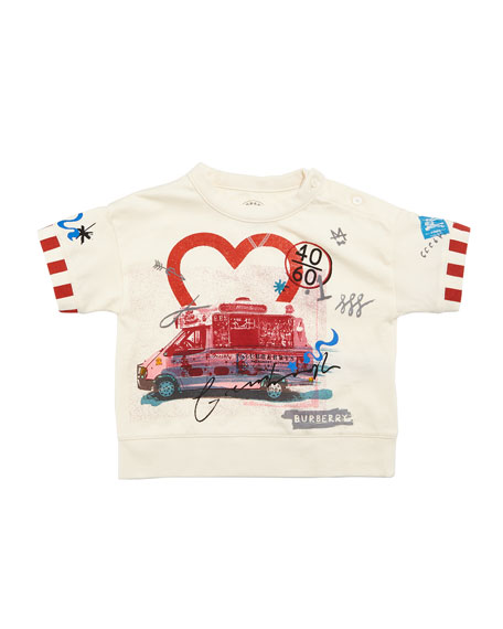 Burberry Adella Ice Cream T-Shirt, Size 12M-3