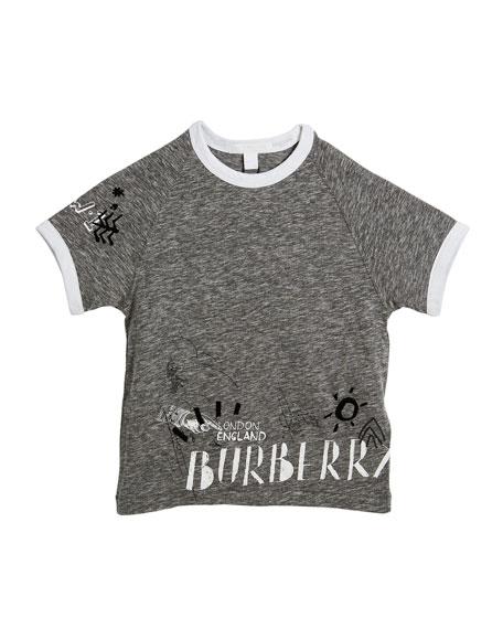 Patrick Graphic Raglan T-Shirt, Size 4-14