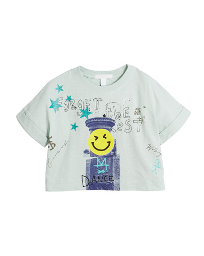 Lucinda Forget the Rest Graphic Tee, Size 4-14