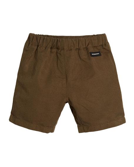 Curran Drawstring Bermuda Shorts, Size 4-14