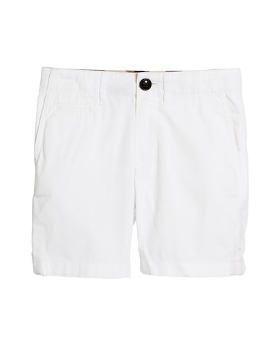 Tristen Lightweight Chino Shorts, Size 4-14