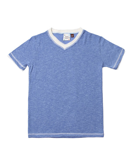 Fore Jersey V-Neck T-Shirt, Size 2-8