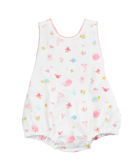Ocean Treasures Ruffle Bubble Bodysuit, Size 3-24 Months