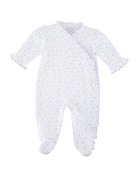 Little Girls Dreams Ruffle Footie Playsuit, Size Newborn-9 Months