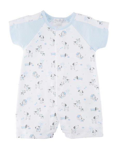 Dogs Day Out Printed Shortall, Size 3-24 Months