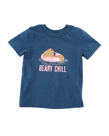 Beary Chill Short-Sleeve Graphic Tee, Size 2-4T