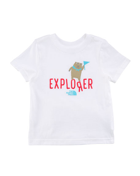 Short-Sleeve Graphic Explorer Tee, Size 2-4T