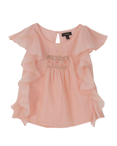 Princess Frill Top, Size 8-12