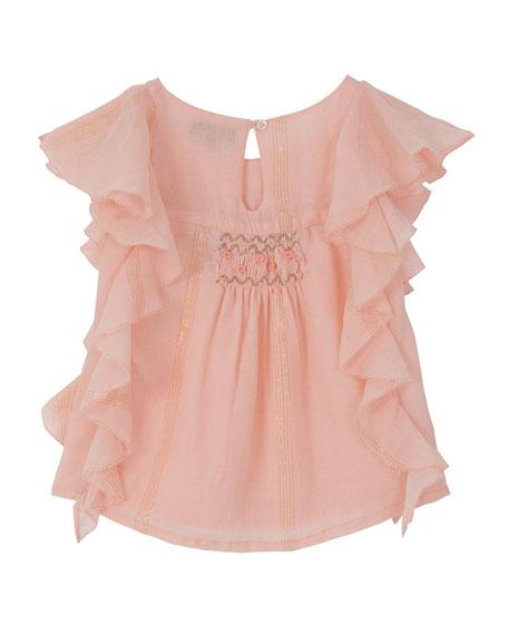 Princess Frill Top, Size 4-6