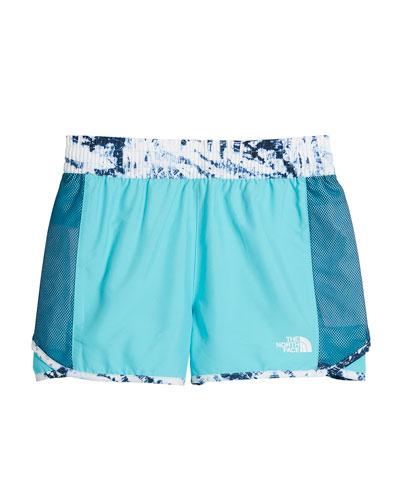 Class V Water-Changing Mesh Panel Shorts, Size XXS-XL