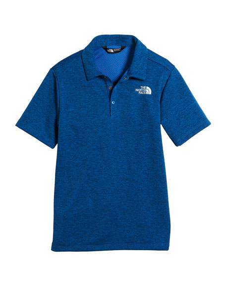 The North Face Knit Pique Short-Sleeve Polo, Size