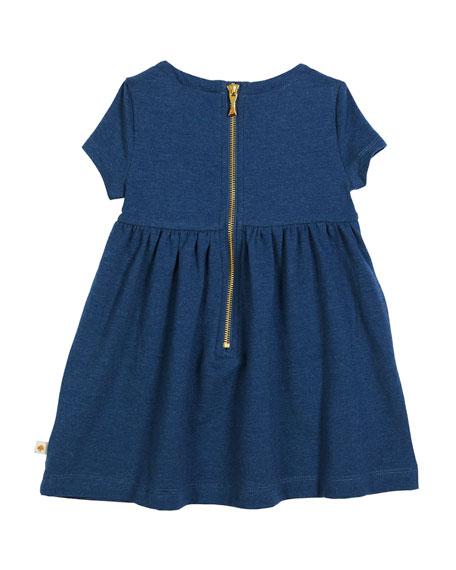 kammy heathered jersey bow dress, size 2-6x