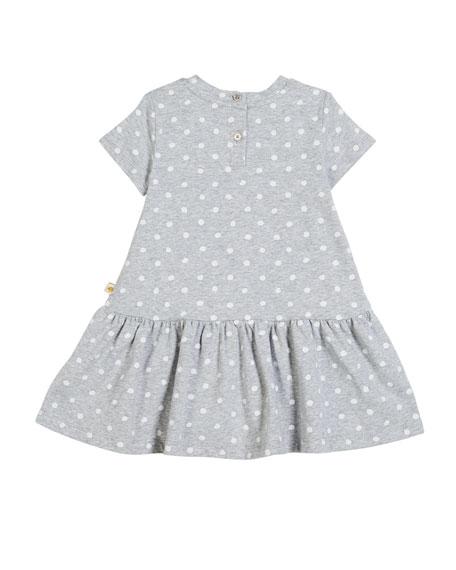 polka-dot camera dress, size 2-6x