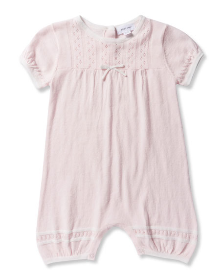 Angel Dear Take Me Home Knit Pointelle Shortall,