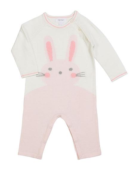 Angel Dear Bunny Intarsia Knit Coverall, Size 0-12