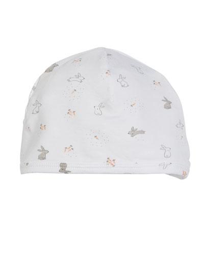 Ditsy Rabbit Baby Hat