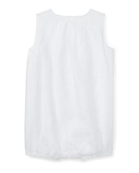 Linen Woven Bubble Playsuit, Size 3-18 Months