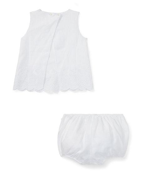 Linen Woven Set, Size 9-24 Months