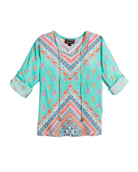 Tolani Brooke Graphic-Print Tunic and Matching Items &