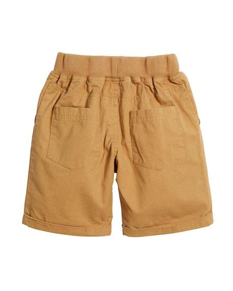 Huey Cotton Drawstring Shorts, Size 3-6