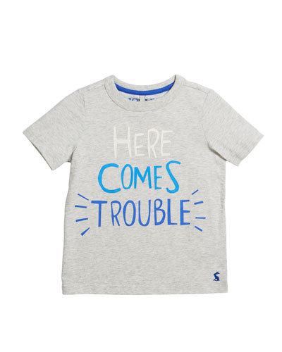 Ben Here Comes Trouble T-Shirt, Size 3-6