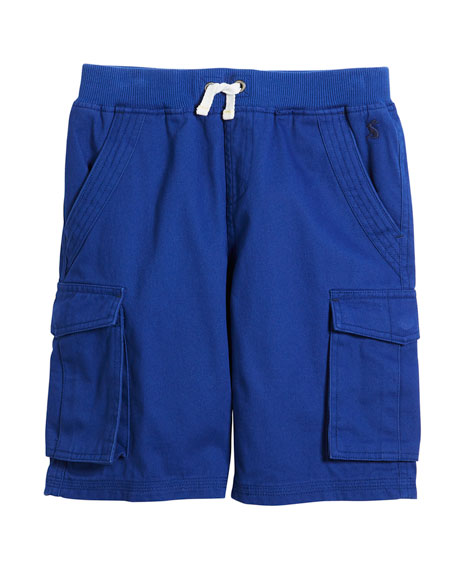 Bob Cotton Cargo Shorts, Size 3-6