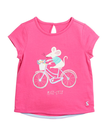 Pixie Mice-Cycle Tee, Size 3-6