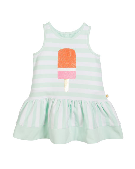 ice pop striped sleeveless dress, size 2-6x