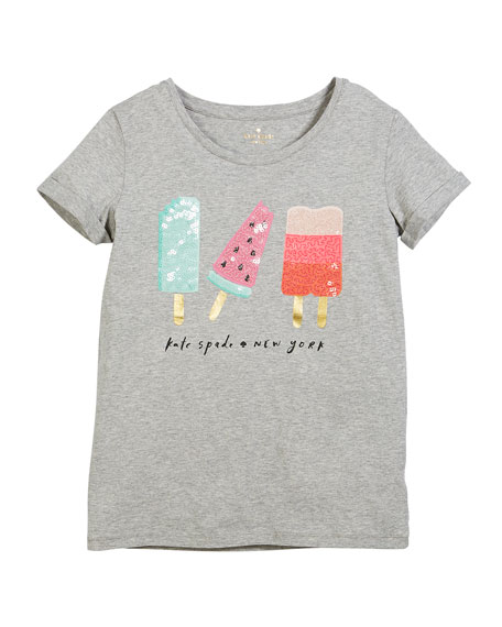 summer treats short-sleeve tee, size 7-14