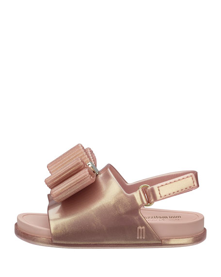 Mini Melissa + Jason Wu Beach Slide Sandal, Toddler