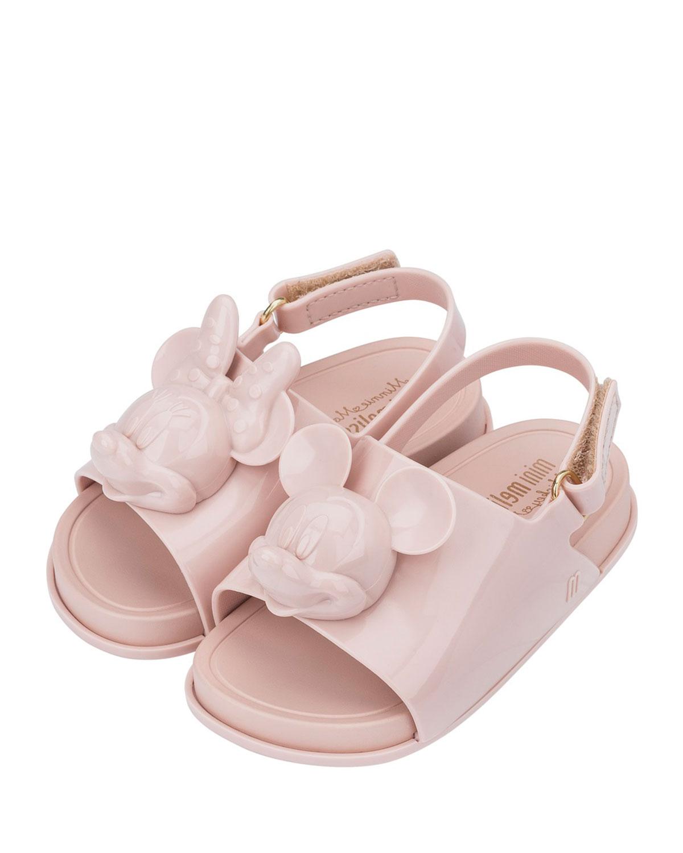 Disney Ballet Flat Mini Melissa Kids Mini Beach Slide Sandal