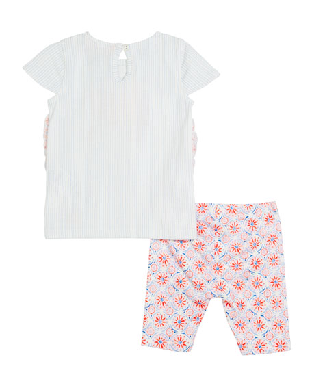 Paula Poodle Top w/ Matching Leggings, Size 3-24 Months