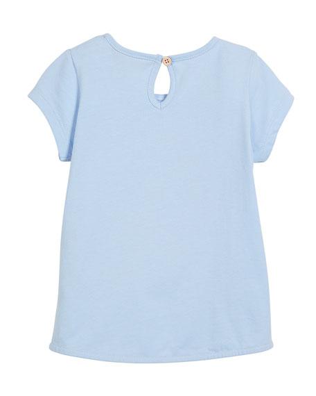 Swimming Cat Short-Sleeve Tee, Size 3-6
