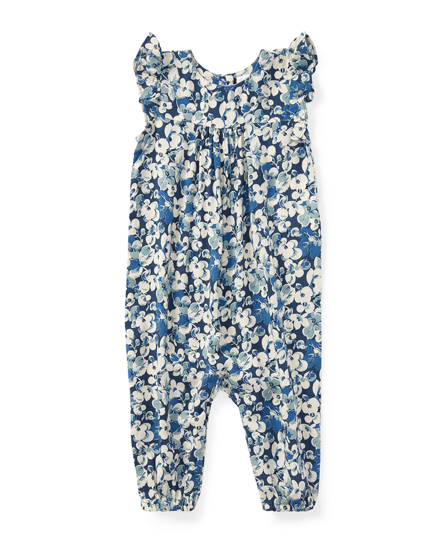 5a5730e9e Ralph Lauren Childrenswear Floral Ruffle-Sleeve Romper