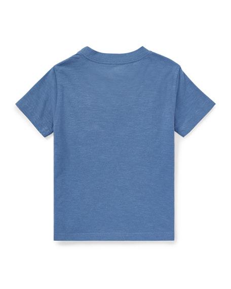 Short-Sleeve Cotton 67 Tee, Size 5-7
