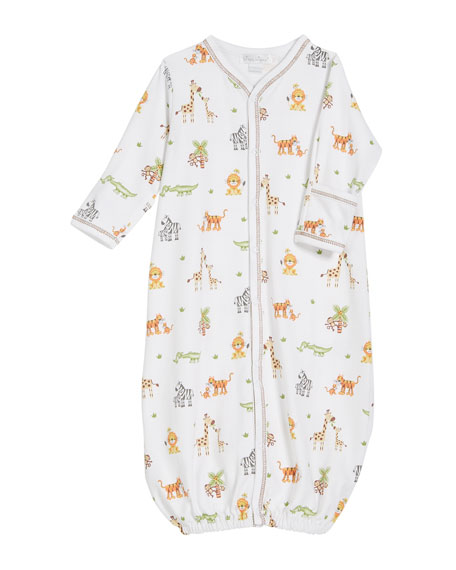 Jolly Jungle Convertible Gown, Size Newborn-S