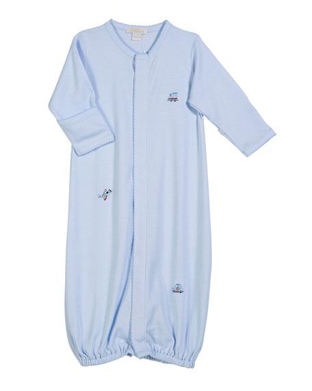 Kissy Kissy SCE Transit Pima Convertible Gown, Size
