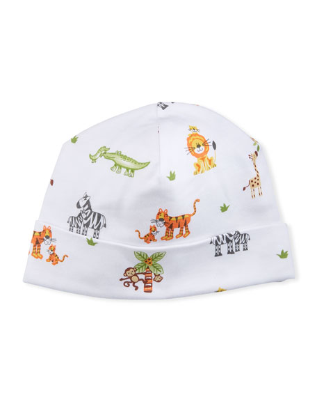 Jolly Jungle Pima Baby Hat