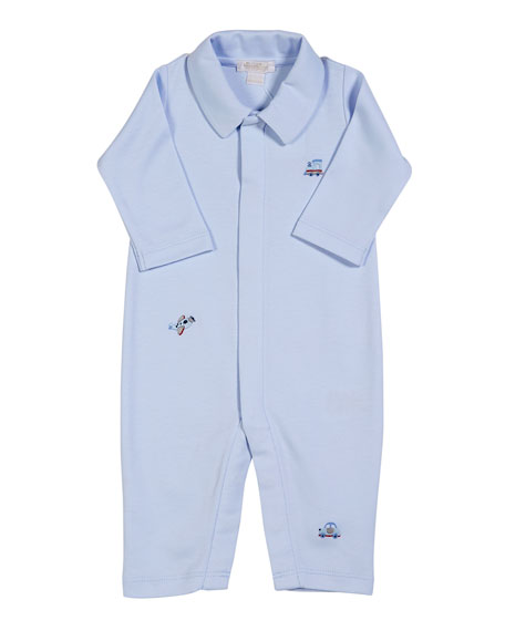 Kissy Kissy SCE Transit Collared Coverall, Size 0-9