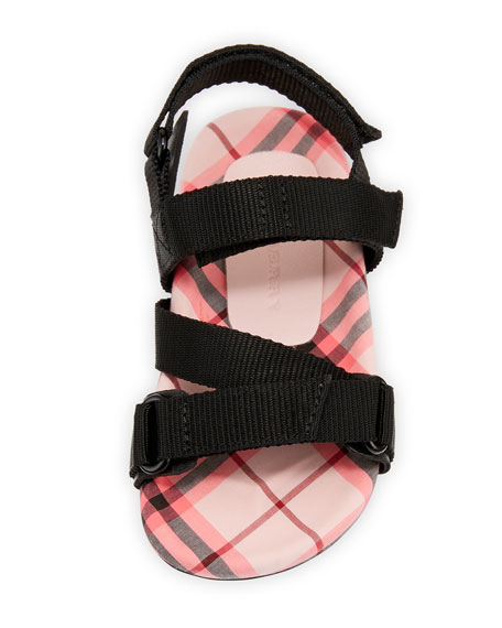 Redmire Check-Lined Sandal, Toddler/Kids