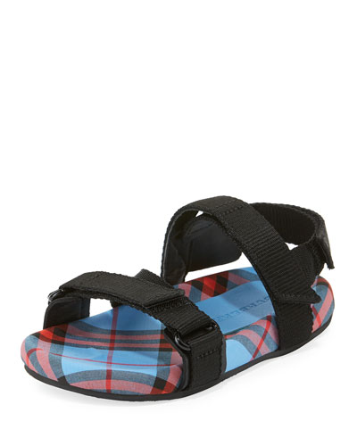 Redmire Check-Lined Sandal  Toddler