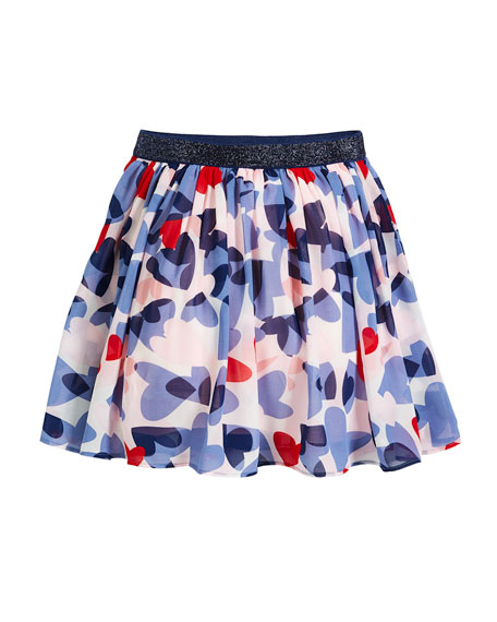 kate spade new york confetti heart a-line skirt,