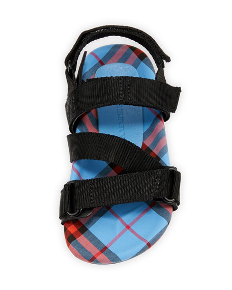 Redmire Check-Lined Sandal, Toddler