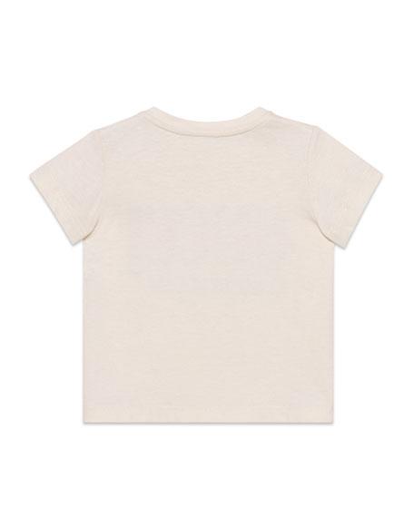 Logo L'Amour Short-Sleeve T-Shirt, Size 12-36 Months
