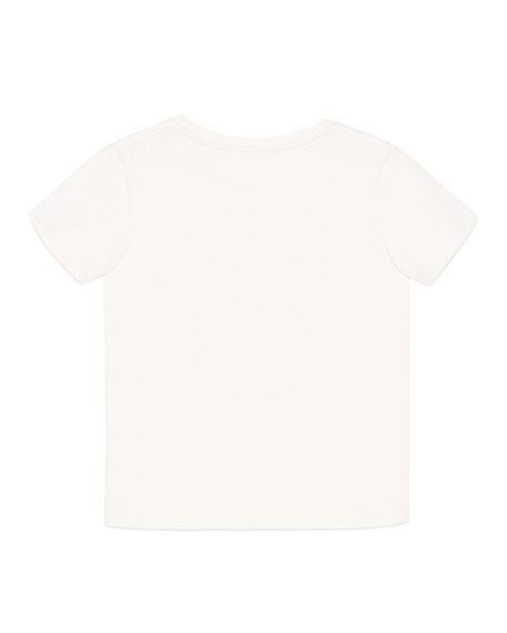 Mystic Cat & Vintage Logo T-Shirt, Size 4-10