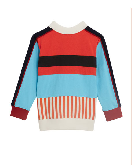 Marc Colorblock Logo Sweater, Size 4-14
