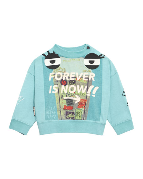 Forever Is Now Graphic Long-Sleeve Shirt, Size 12M-3