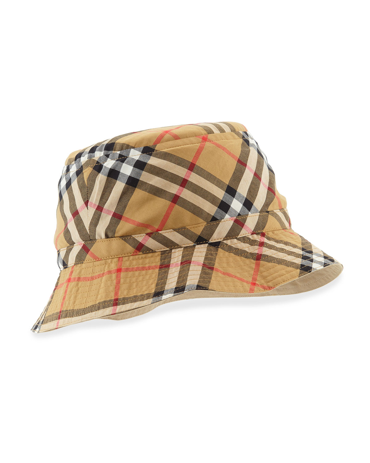 c477c32dd1f Burberry Vintage Check Bucket Hat
